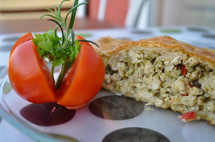 Pesto and chicken pie | Delicious! | Pinterest