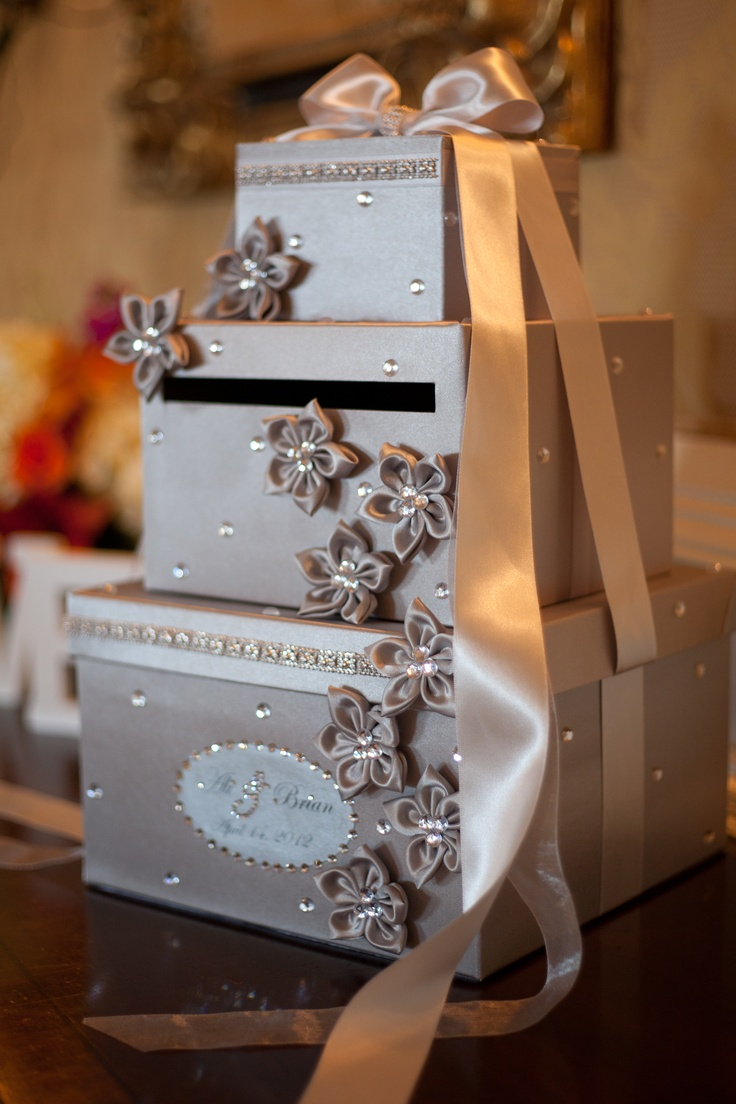 Used Wedding Gift Card Box : We used a unique box for the cards My Wedding Pinterest