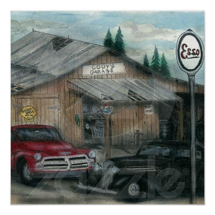 Cody 39 s garage print for Garage prints