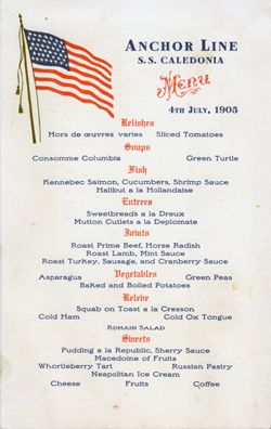 july 4th menus and recipes