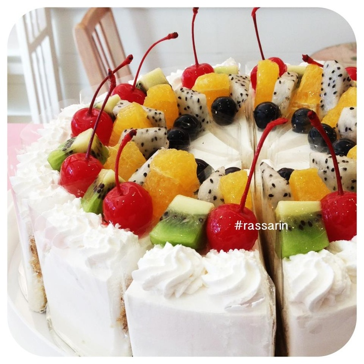 Cake With Fruit Pinterest : Fruit cake By Rassarin Cake & Coffee Delicious Pinterest