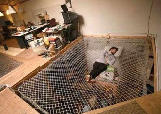 Floor hammock. Do want.