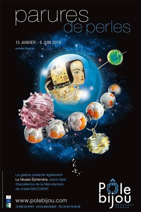 Parures de Perles - Pôle bjou Baccarat - 15 janv-8 juin 2014 -  http://www.polebijou.com/ - http://www.polebijou.com/sites/default/files/DP%20perles%20de%20verre.pdf