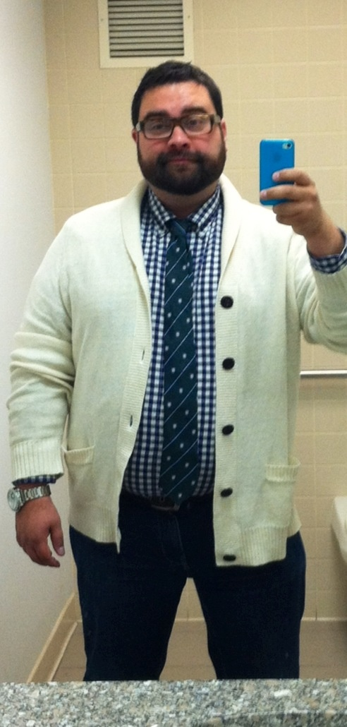 "Matthew put together a ""preppy"" look and he's sharing it with us. Find out how to make it yours: http://bit.ly/KyfEJY"
