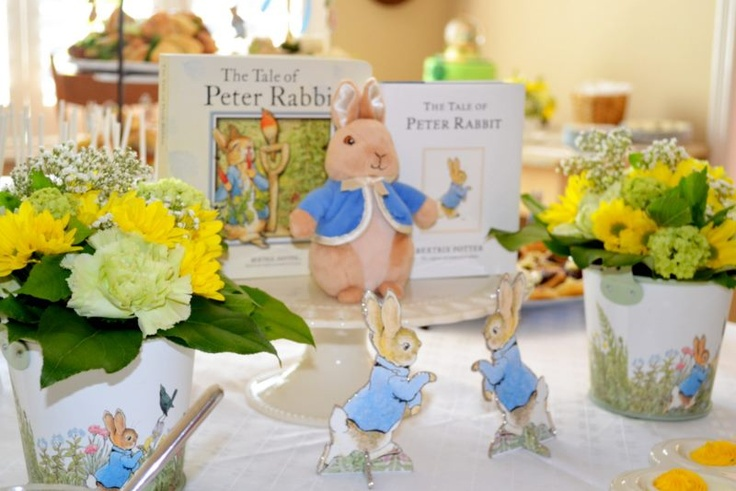 decorations at shower peter rabbit baby shower pinterest