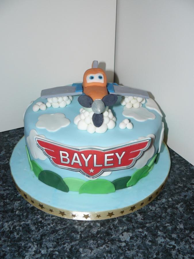 Disney Plane Cake Images : Disney Planes Cake Edible Dusty Krazy Kupcakes Pinterest