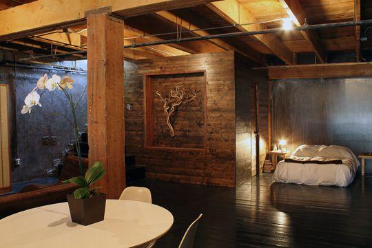 Rocker house loft bedroom, kickin it!