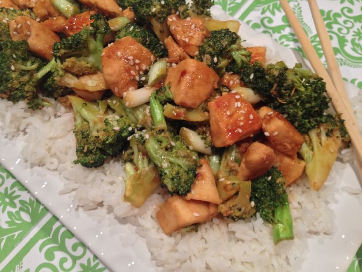 Chicken, Asparagus, And Broccoli Stir-Fry Recipe — Dishmaps