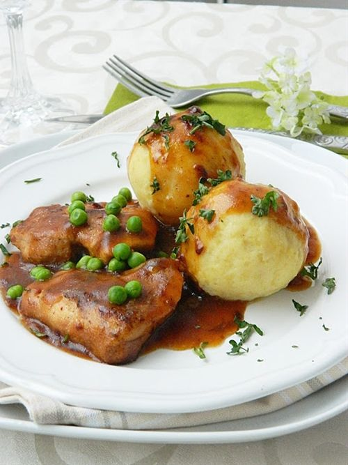 German Potato dumplings | Food and Recipes | Pinterest