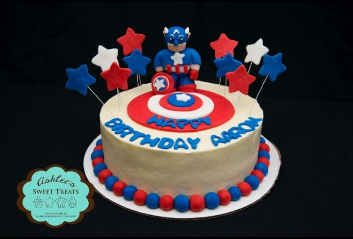 Cake Decorations New Lynn : Captain america cake Cakes Pinterest