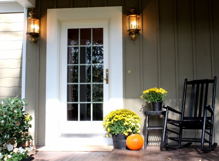 Autumn front door curb appeal pinterest Curb appeal doors