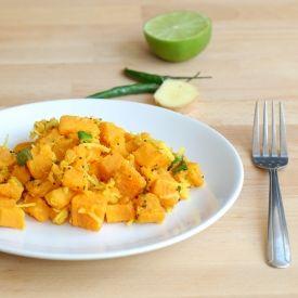 Spicy Sweet Potato Salad | Sides | Pinterest