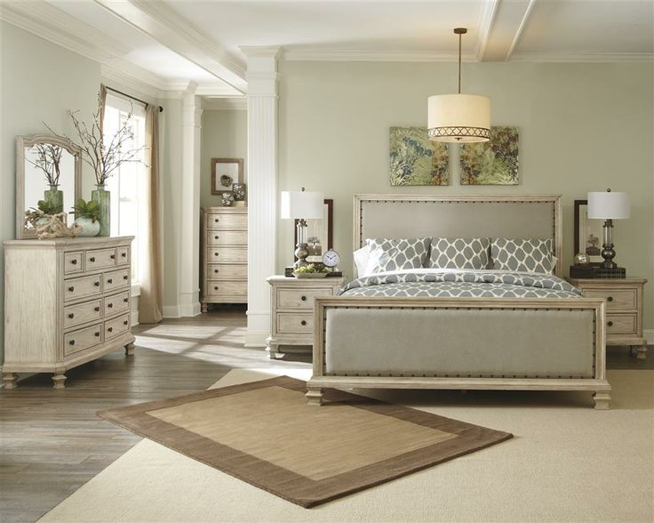 Ashley Demarlos Vintage Casual Traditional Queen King Master Bedroom