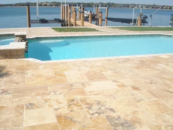 Antique Blend Travertine Finished Spaces Pinterest
