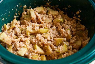 Kalyn's Kitchen®: CrockPot Recipe for Make-Ahead Apple Pie Oatmeal