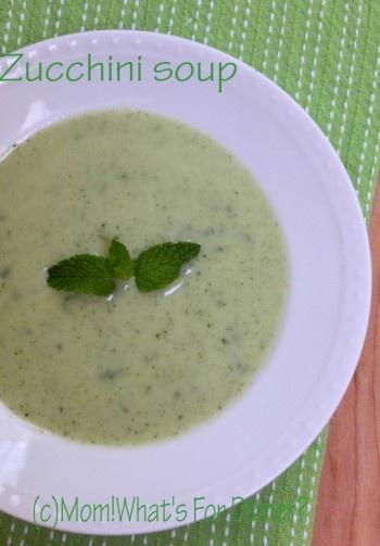 Zucchini Soup | No SOUP for you! | Pinterest