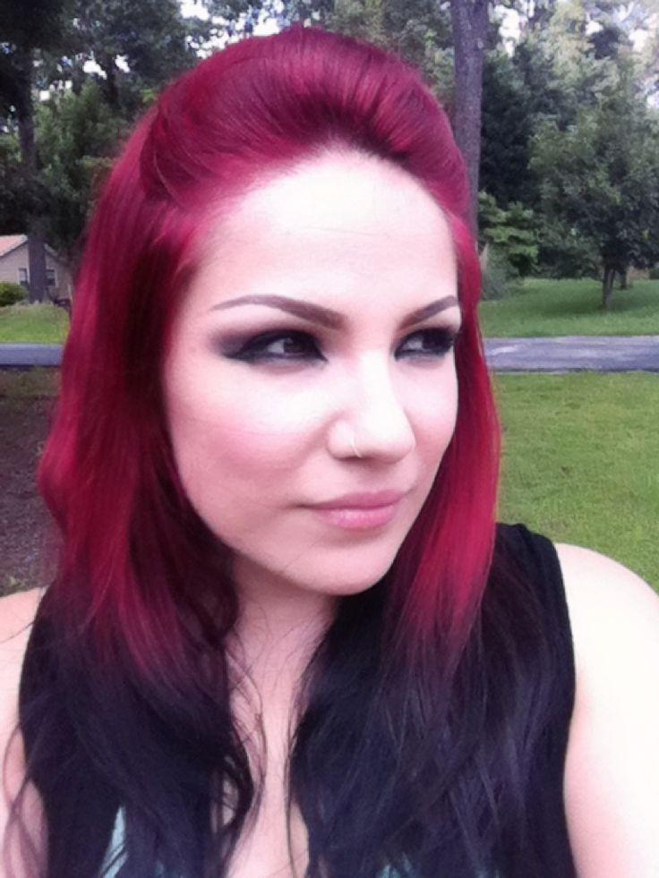 dark red and black hair tumblruvuqgwtrke