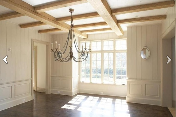 Natural Wood Coffered Ceiling Walls Behi Pinterest