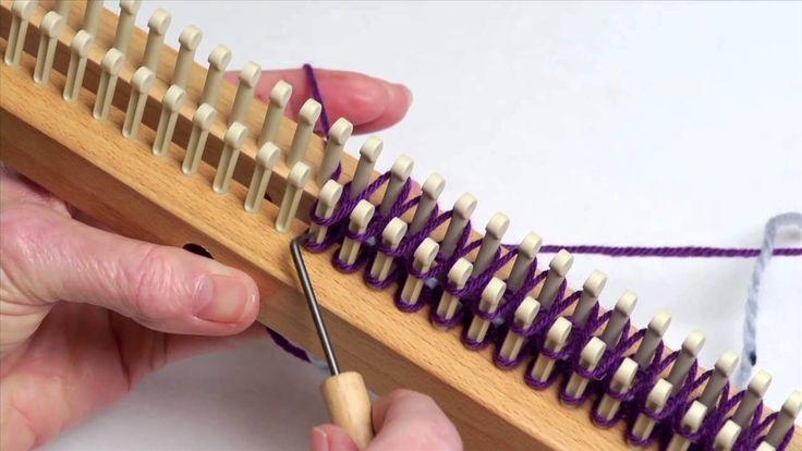 Double Knit Stockinette Stitch Loom : Stockinette Stitch in double knit loom stitches & techniques Pint?