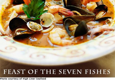 feast of the seven fishes recipes mediterranean pinterest