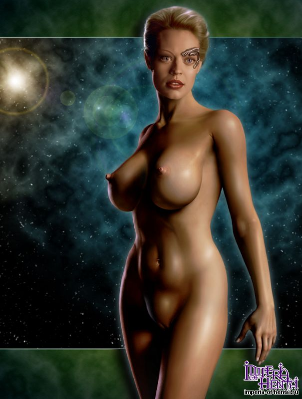Was Star trek seven of nine porno similar situation