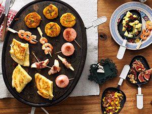 neue ideen f r raclette und fondue food drinks sweets. Black Bedroom Furniture Sets. Home Design Ideas