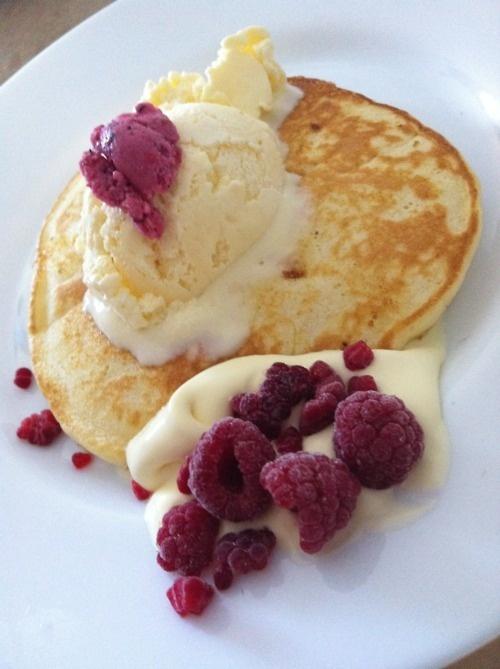 Raspberry Lemon Pancakes | Yum! | Pinterest