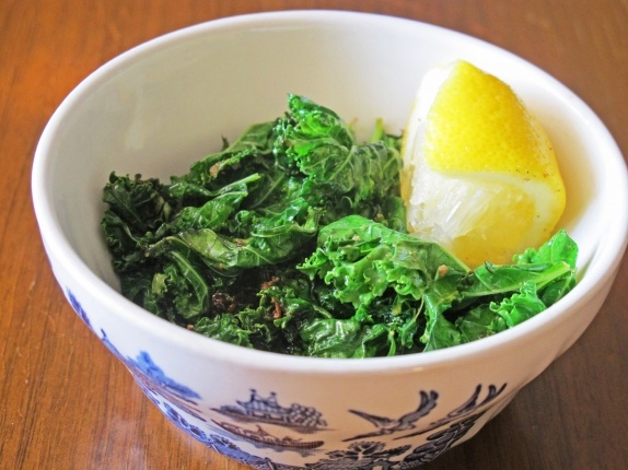 Kale Sautéed in Basil Butter + Lemon | Food | Pinterest