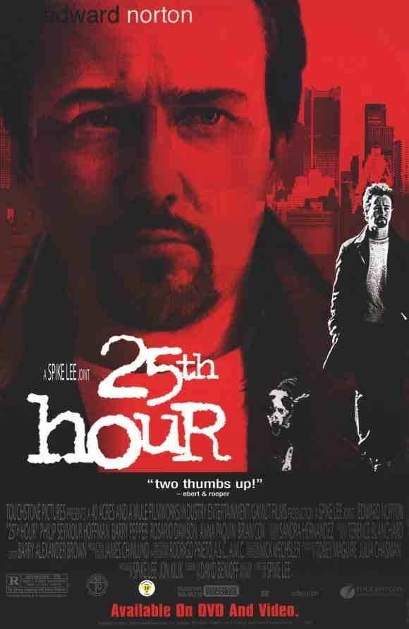 25th hour film television and cinema lore pinterest