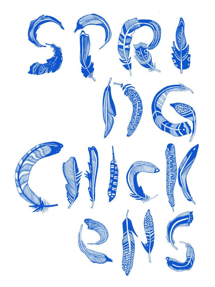 feather font for eagle street farm typography pinterest