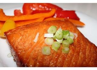 Honey Ginger Grilled Salmon | Fish | Pinterest