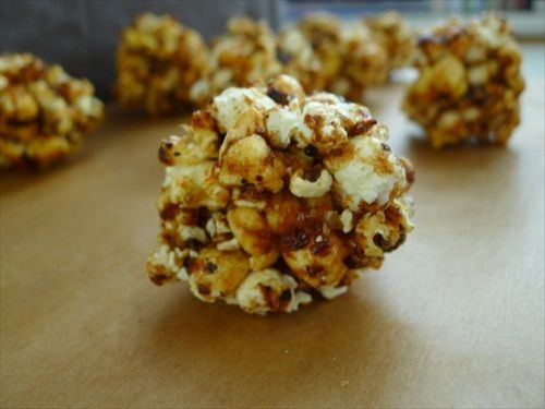Oscars Recipe: 'Moneyball' Truffled Popcorn Balls