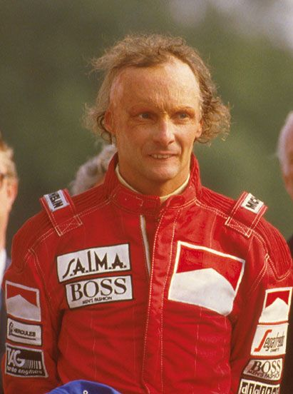 niki lauda after his fiery crash niki lauda formula1 legend pinterest. Black Bedroom Furniture Sets. Home Design Ideas