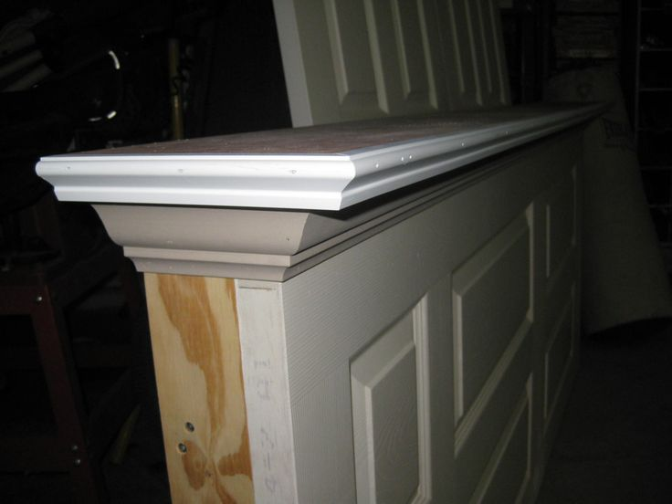 how to make a door headboard for the home pinterest