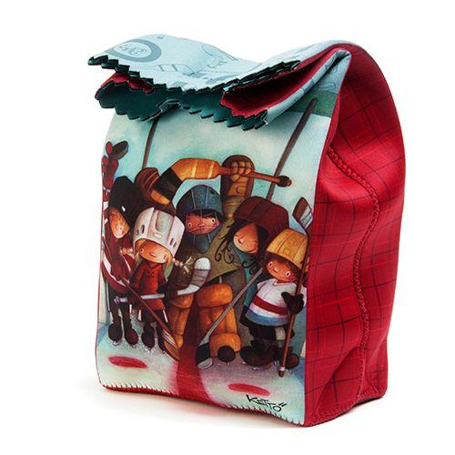 Sac à collation Ketto - Hockey / Ketto's lunch bag - Hockey www ...