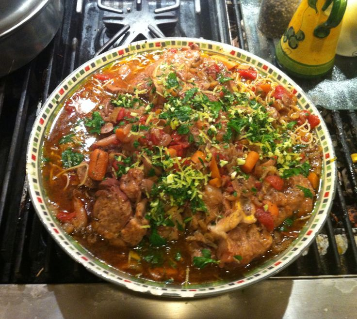 Pressure Cooker Osso Buco Milanese Recipes — Dishmaps