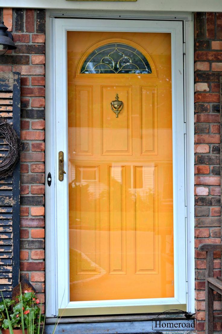 Painting My Front Door Yellow