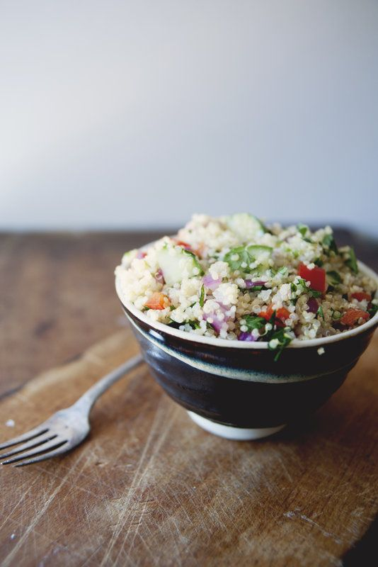 Quinoa Tabbouleh - Food for Thought with Claire Thomas