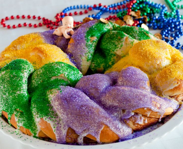 Quick Mardi Gras King Cake | Recipe