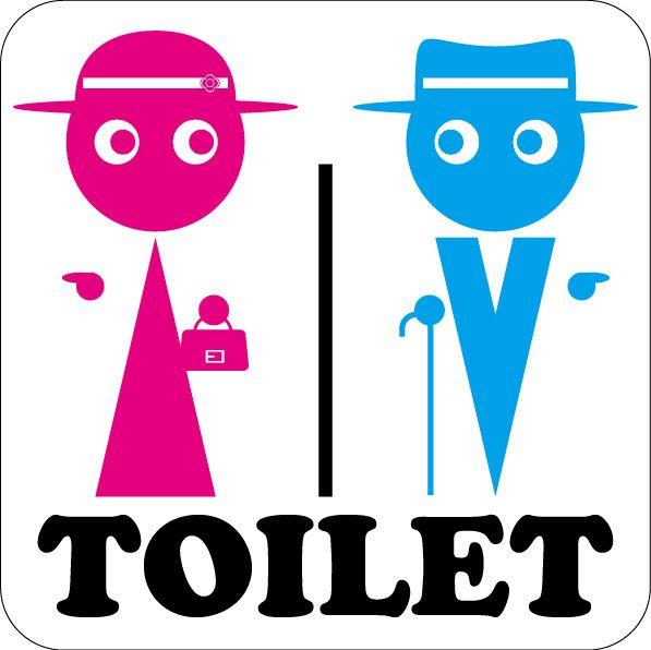toilet icon | signalet...