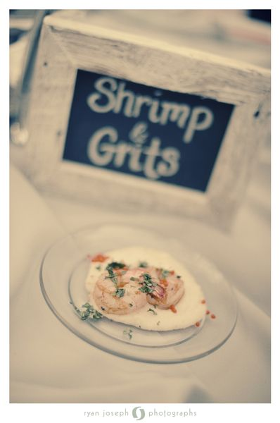 Shrimp and Grits from Puff and Stuff Catering #CupcakeDreamWedding