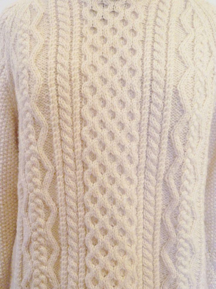 Irish Cable Wool Sweater 98