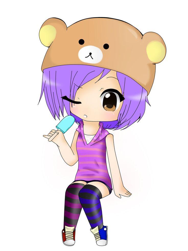 Cute chibi anime people