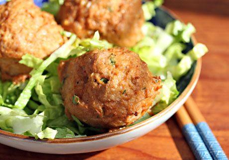 Thai Red Curry Turkey Meatballs | Recipe Ideas | Pinterest