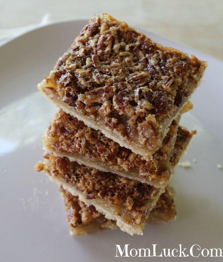 Pecan Pie Bars | Brownies and Bars | Pinterest