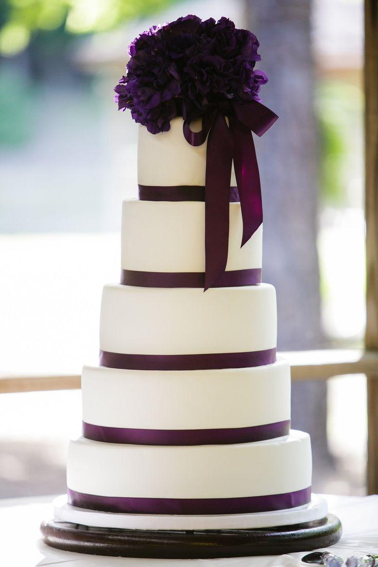 purple wedding cake Cake Decorating