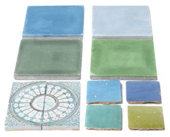 Mix azulejos - parede do duche [Badkamertegels]