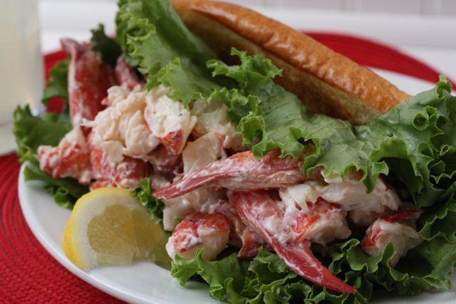 New England Lobster Rolls Recipe — Dishmaps