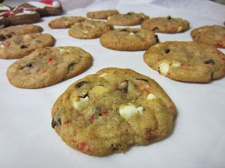 Peppermint Bark Chip Cookies... if you like chocolate chip cookies and ...