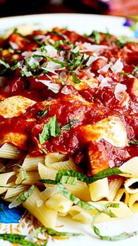 ... Mozzarella Pasta Recipe ~ It's ridiculously simple, but oh so good